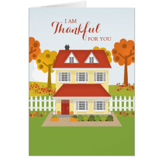 Thanksgiving Dinner Open House Card