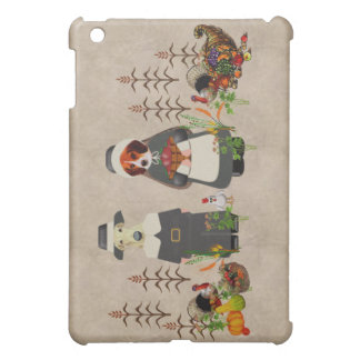 Thanksgiving Dogs Case For The iPad Mini