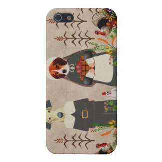 Thanksgiving Dogs iPhone 5 Covers