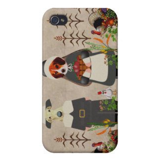 Thanksgiving Dogs iPhone 4 Case