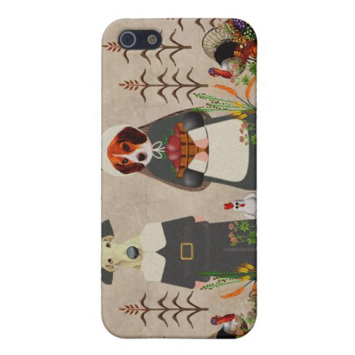 Thanksgiving Dogs iPhone 5 Cover