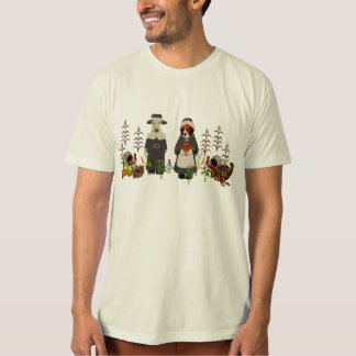 Thanksgiving Dogs Tee Shirts