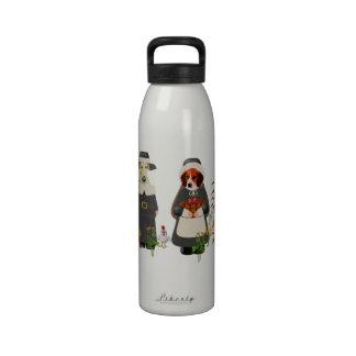 Thanksgiving Dogs Drinking Bottles