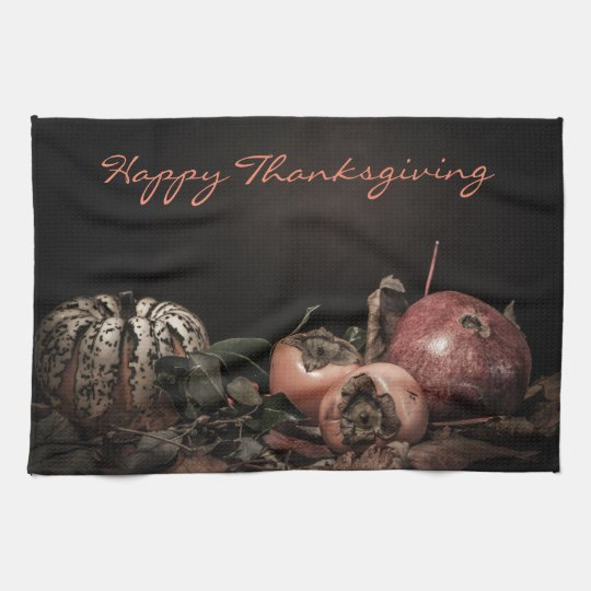 "Thanksgiving Dutch Master Kitchen Towel 16"" x 24"""