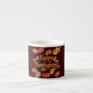 Thanksgiving Espresso Cup
