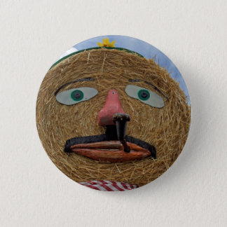 thanksgiving face 2 inch round button