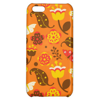 Thanksgiving Fall Autumn Pattern Case For iPhone 5C