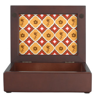 Thanksgiving Fall Autumn Pattern Memory Boxes