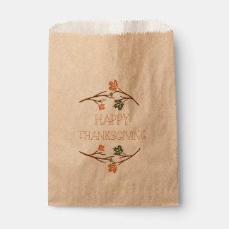 Thanksgiving Favour Bag
