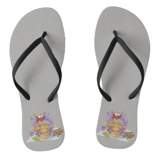 Thanksgiving Flip Flops