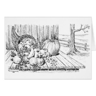 Thanksgiving for a Bountiful Harvest Card