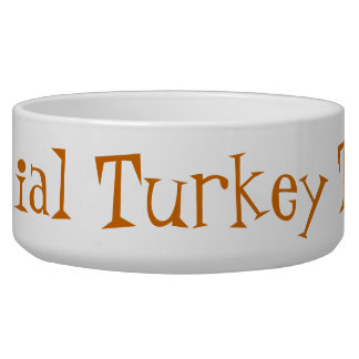 THANKSGIVING FOR DOGS PET FOOD BOWL
