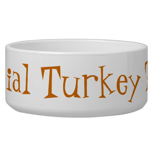 THANKSGIVING FOR DOGS PET BOWL