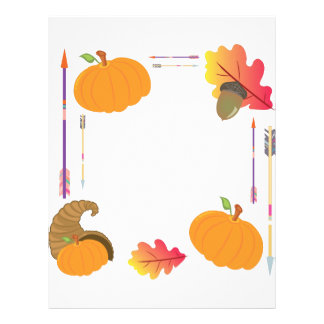 Thanksgiving Frame Letterhead