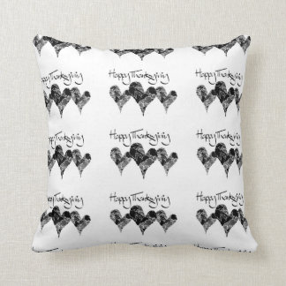 """*THANKSGIVING FRONT/CHEERS ON BACK"""" PILLOW"""
