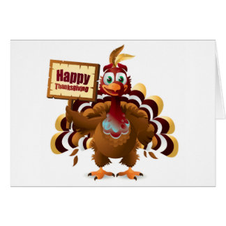 Thanksgiving Greeting Card/Turkey Card