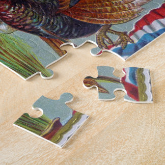 Thanksgiving Greetings 1906 Jigsaw Puzzle