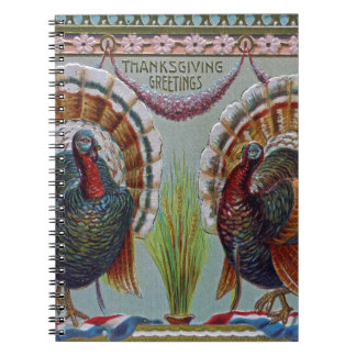 Thanksgiving Greetings 1906 Notebook