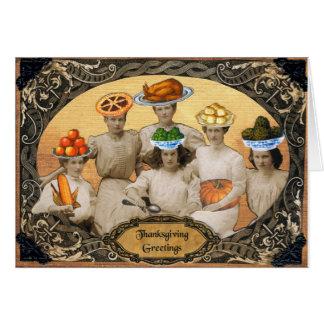Thanksgiving Greetings Card