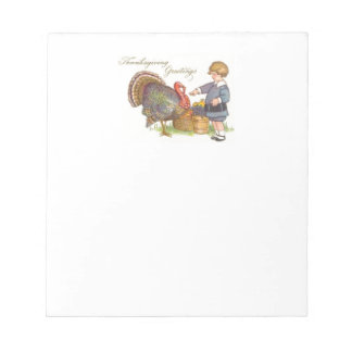 Thanksgiving Greetings Notepad