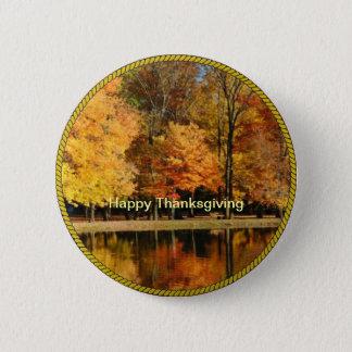 THANKSGIVING: Happy Thanksgiving Button/Lapel Pin