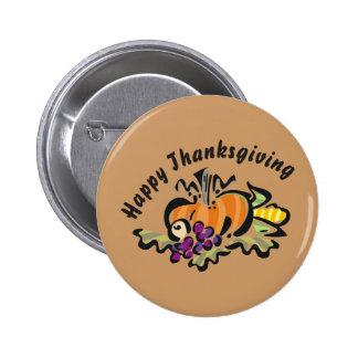 Thanksgiving Harvest Button
