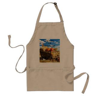 Thanksgiving Harvest Wagon Standard Apron