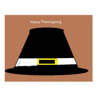 Thanksgiving Hat Postcard