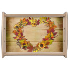 Thanksgiving Heart Serving Tray