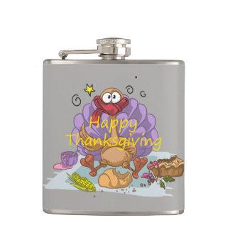 Thanksgiving Hip Flask