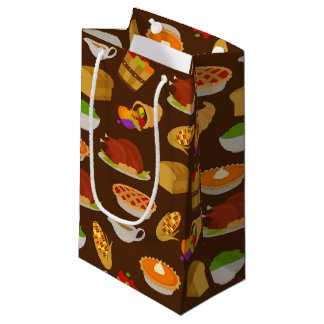Thanksgiving Holiday dinner party bag
