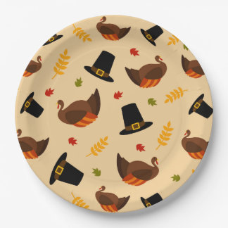 Thanksgiving Holiday turkey dinner party plate