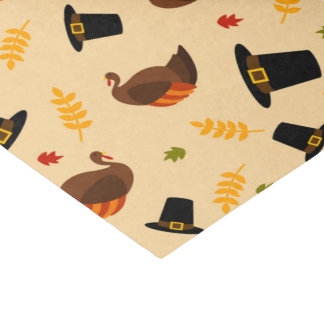 Thanksgiving Holiday turkey dinner party tissue Tissue Paper