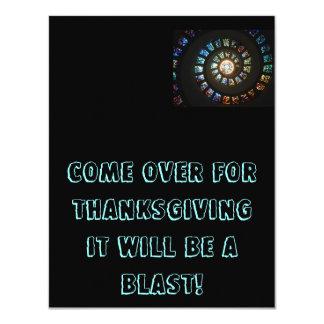 Thanksgiving Invitations Personnalisées