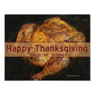 Thanksgiving Invitation (Humorous 2 - Personalize)
