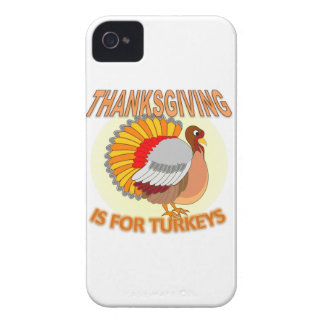 Thanksgiving Is For Turkeys iPhone 4 Case-Mate Case