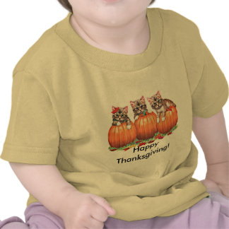 Thanksgiving is the Cat s Meow T-shirts