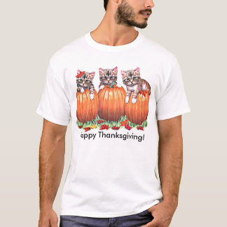 Thanksgiving is the Cat's Meow T-Shirt