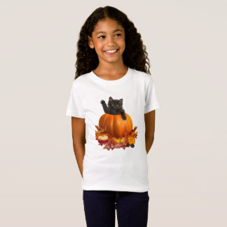 Thanksgiving Kitty T-Shirt
