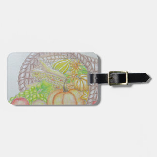 Thanksgiving Luggage Tag