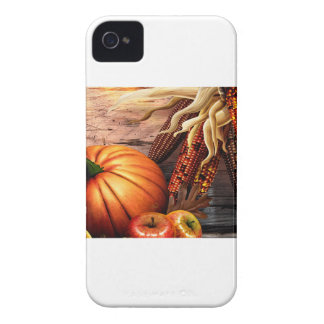 Thanksgiving Maize Corn Pumpkin iPhone 4 Covers