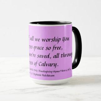 Thanksgiving Mug Verse 4