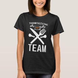 Thanksgiving Nap Team Tryptophan Sleep T-Shirt