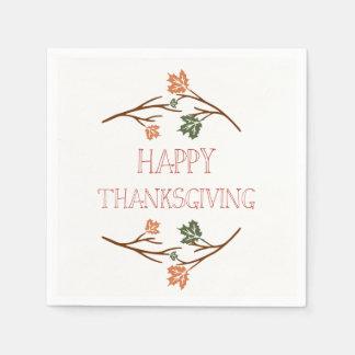 Thanksgiving Napkins Disposable Napkin