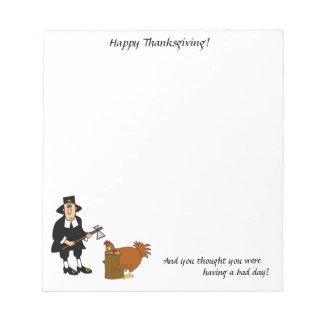 Thanksgiving Notepad