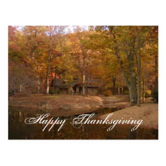 Thanksgiving Notes Postcard
