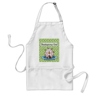 Thanksgiving owl aprons