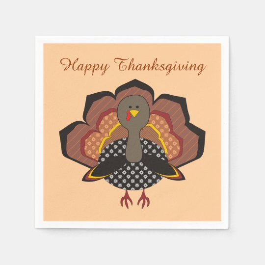 Thanksgiving Paper Napkins