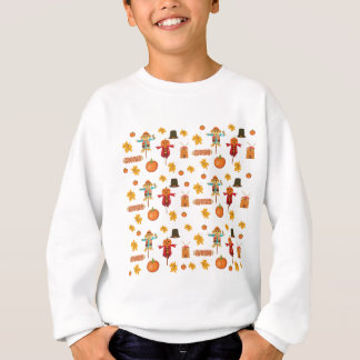 Thanksgiving pattern sweatshirt