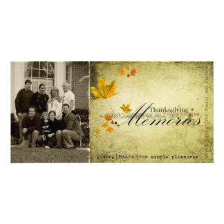 thanksgiving Photcard Customized Photo Card